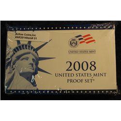 51. 2008 U.S. Proof Set. Original as issued. CDN Bid is $56.00.