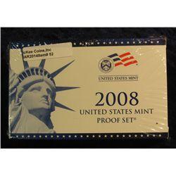 52. 2008 U.S. Proof Set. Original as issued. CDN Bid is $56.00.
