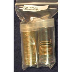 56. 50 State Complete Set of Philadelphia Mint U.S. Statehood Quarters. Gem BU. In two brand new pla