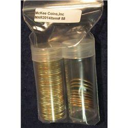 58. 50 State Complete Set of Philadelphia Mint U.S. Statehood Quarters. Gem BU. In two brand new pla