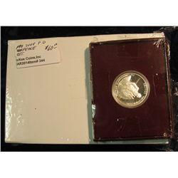"344. U.S. Mint box containing 2004 P & D Original BU Rolls of ""Peace Westward Journey Nickel"" Set; &"