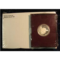 "345. U.S. Mint box containing 2004 P & D Original BU Rolls of ""Keel Boat Westward Journey Nickel"" Se"