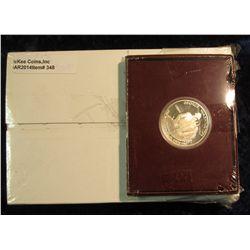 "348. U.S. Mint box containing 2005 P & D Original BU Rolls of ""Ocean View Westward Journey"" Nickels"
