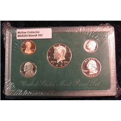 353. 1995 S U.S. Proof Set. Original as issued.
