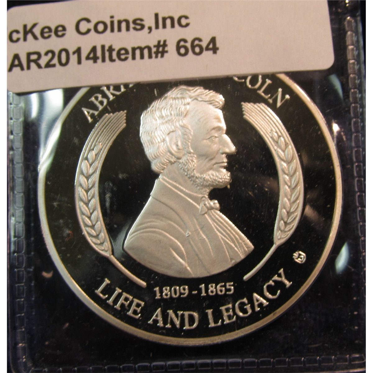 abraham lincoln life and legacy coin value