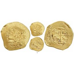 Mexico City, Mexico, cob 8 escudos, Philip V, assayer J (style of 1711-2), from the 1715 Fleet.