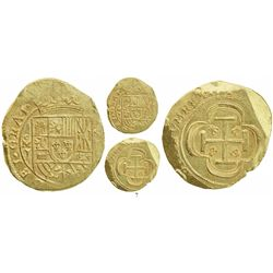 Mexico City, Mexico, cob 8 escudos, 1714J, date on reverse, GRAT on obverse, from the 1715 Fleet.