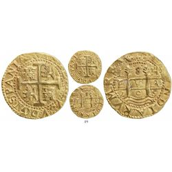 Lima, Peru, cob 8 escudos, 1705H, rare, from the 1715 Fleet.