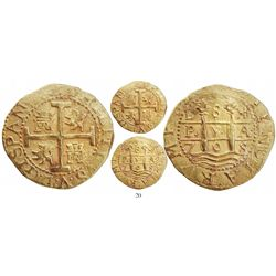Lima, Peru, cob 8 escudos, 1708H, from the 1715 Fleet.