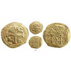 Lima, Peru, cob 8 escudos, 1744V.