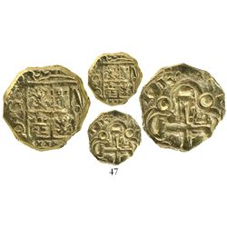 Bogota, Colombia, cob 2 escudos, 1713, from the 1715 Fleet.