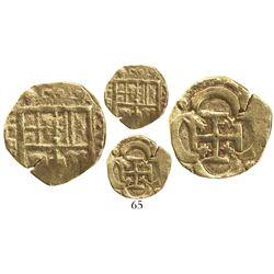 Seville, Spain, cob 2 escudos, Philip III, assayer B, ex-McKee.