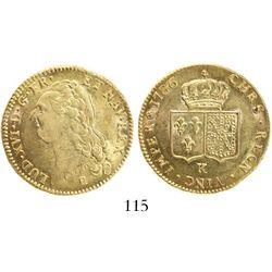 France (Bordeaux mint), double louis d' or, Louis XVI, 1786-K.