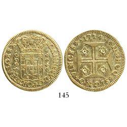 Lisbon, Portugal, 4000 reis, Joao V, 1714.