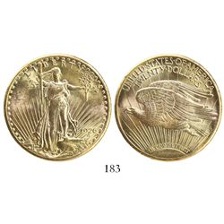 USA (Philadelphia mint), $20 St. Gaudens, 1926.