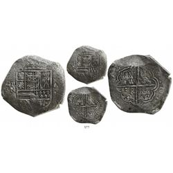 Cartagena, Colombia, cob 8 reales, 1622A, mintmark RN to left, choice Grade 1, rare, pedigreed to th