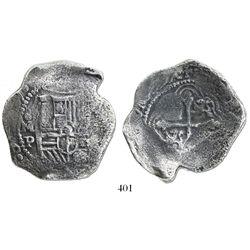 Mexico City, Mexico, cob 8 reales, (163)9P.