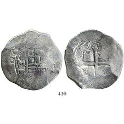 Mexico City, Mexico, cob 8 reales, 164(0)P.