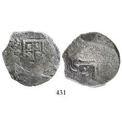 Mexico City, Mexico, cob 4 reales, (1)639(P).