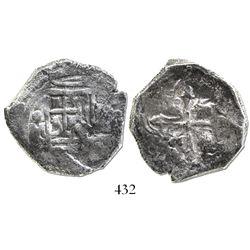 Mexico City, Mexico, cob 4 reales, (1)640/39(P).