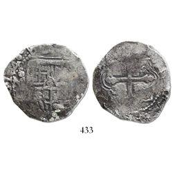 Mexico City, Mexico, cob 4 reales, 1640(P).