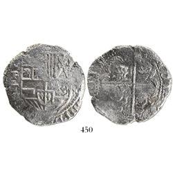 Potosi, Bolivia, cob 8 reales, (1)63(?)T.