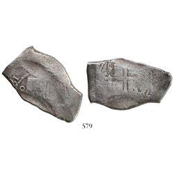 Mexico City, Mexico, cob 8 reales, (16)81(L).