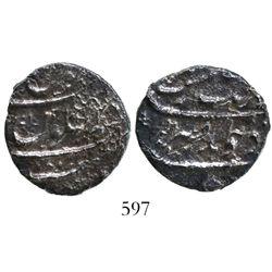 Surat, India (Mughal Empire), 1 rupee, Aurangzeb (1658-1707), AH1113 (1702).
