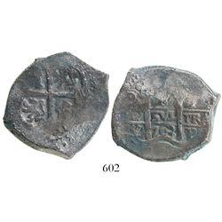 Potosi, Bolivia, cob 8 reales, 1703Y, desirable provenance.