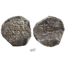 Mexico City, Mexico, cob 8 reales, (1)7(3)3F.