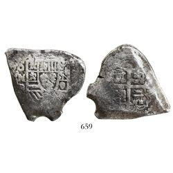 Mexico City, Mexico, cob 8 reales, (1)726(?)D.