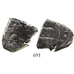 Guatemala, cob 4 reales, 1735(J).