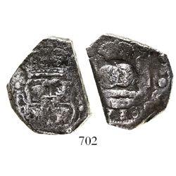 Guatemala, cob 4 reales, (1)738(J).