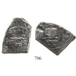 Guatemala, cob 4 reales, 1739J.