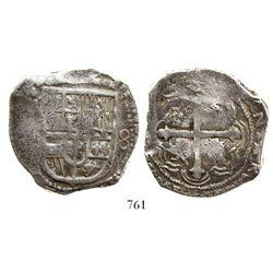 Mexico City, Mexico, cob 8 reales, (162)3(D), rare.