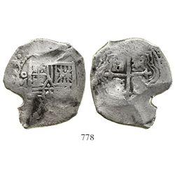 Mexico City, Mexico, cob 8 reales, (1)679L, ex-Joanna (1682).