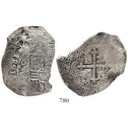 Mexico City, Mexico, cob 8 reales, 1681L, ex-Joanna (1682).