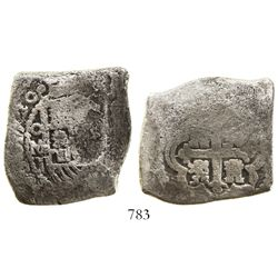 Mexico City, Mexico, cob 8 reales, 1720J, rare, ex-Akerendam (1725).