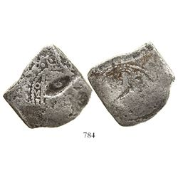Mexico City, Mexico, cob 8 reales, 1721J, rare, ex-Akerendam (1725).