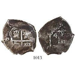 Potosi, Bolivia, cob 4 reales, 1688VR, ex-Christensen.
