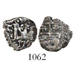 Potosi, Bolivia, cob 1/2 real, 172(?), Louis I.