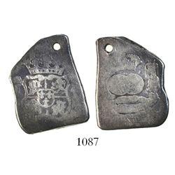 Guatemala, cob 4 reales, (1)752(?)J.