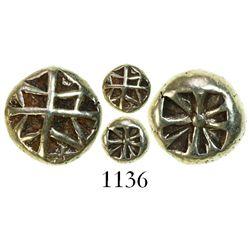 Ionia, electrum hemi-hechte (1/12 stater), 650-600 BC.