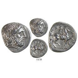 Kings of Macedon, AR tetradrachm, Philip II (359-336 BC), lifetime or early posthumous issue of Amph
