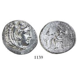 Kings of Macedon, AR tetradrachm, Alexander III (the Great), 336-323 BC, late lifetime or early post