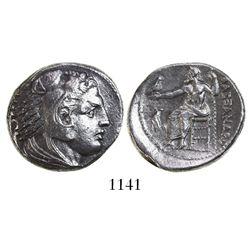 Kings of Macedon, AR tetradrachm, Alexander III (the Great), 336-323 BC, Amphipolis mint, struck und