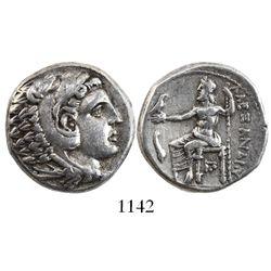 Kings of Macedon, AR tetradrachm, Alexander III (the Great), 336-323 BC, Amphipolis mint, struck ca.