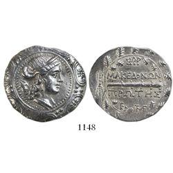 Macedon (Roman Protectorate), AR tetradrachm, First Meris,167-70 BC, Amphipolis mint.