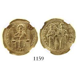 Byzantine Empire, AV histamenon nomisma, Romanus III, 1028-1034 AD, encapsulated NGC XF strike 5/5 s