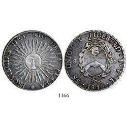 Argentina (Potosi mint), 8 soles, 1815FL.